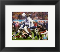 Framed Reggie Wayne Super Bowl XLI Action (#22)