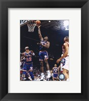 Framed Charles Oakley - 1991 Action