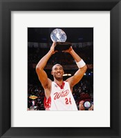Framed Kobe Bryant - '07 All Star Game /  MVP Trophy