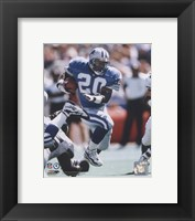 Framed Barry Sanders - 1996 Action