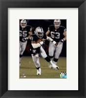 Framed Tim Brown - 2002 Action