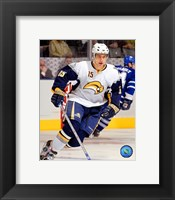 Framed Dainius Zubrus - '06 / '07 Away Action