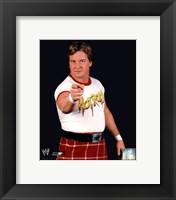 Framed Rowdy Roddy Piper - #351