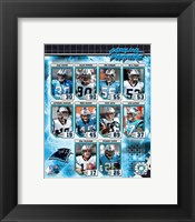Framed 2006 - Panthers Team Composite