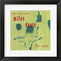 Framed Miles Davis - Blue Mood
