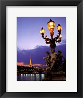 Framed Paris Bridge
