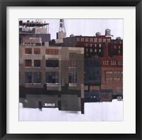 Framed Lower Manhattan IV