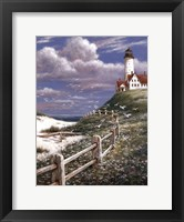 Framed Lighthouse With Fence
