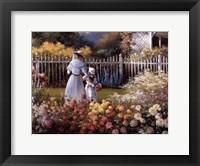 Framed Victorian Garden