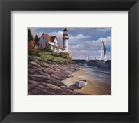 Framed Lighthouse I