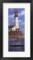 Lighthouse Shoals I Framed Print