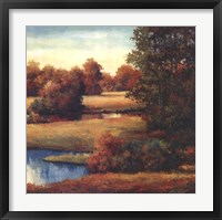 Lakeside Serenity II Framed Print
