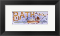 Framed Bath (Mermaid)