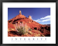 Framed Integrity - Castle Rock