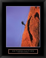 Framed Determination - Climber