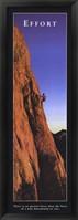 Framed Effort - Climber