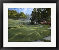 Framed Azalea Hole Golf Course