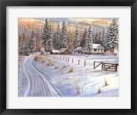 Framed Winter Scene IV