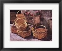 Framed Stacked Baskets
