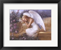 Framed Angel at Rest