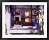 Framed Blue Window
