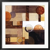 Framed Abstract With Circles II