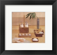 Framed Soaps Combs In Baskets