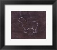Framed Lamb