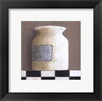 Sugar Jar Framed Print