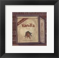 Framed Vanilla Tea