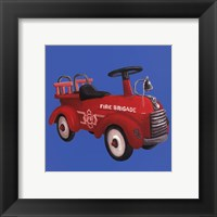 Fire Truck Framed Print
