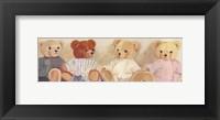 Framed Four Bears sitting