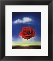 Framed Meditative Rose, c.1958