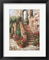 Framed Stone Stairway, Perugia