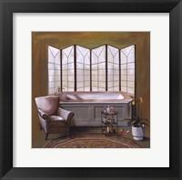 Framed Corromandel Bath II