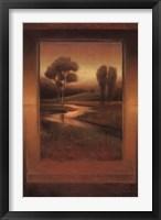 Framed Golden Horizon II