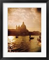 Framed Venezia Sunset I