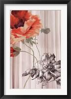 Framed Fleur I