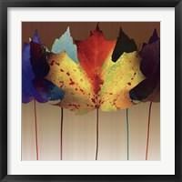 Framed Leaf Dance