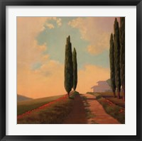 Framed Tuscan Path II