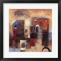 City Houses IV Framed Print