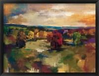 Framed Vivid Meadow
