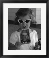 Caroline Sunglasses, 1961 Framed Print