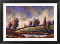 Tuscan Shadows I Framed Print