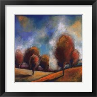 Tuscan Shadows III Framed Print