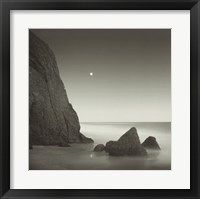Shark Tooth Cliff Framed Print