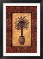Palm Mosaic II Framed Print