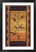 Batik Two Framed Print