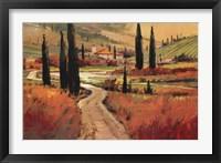 September In Tuscany I Framed Print