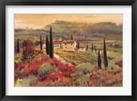 Framed September In Tuscany II